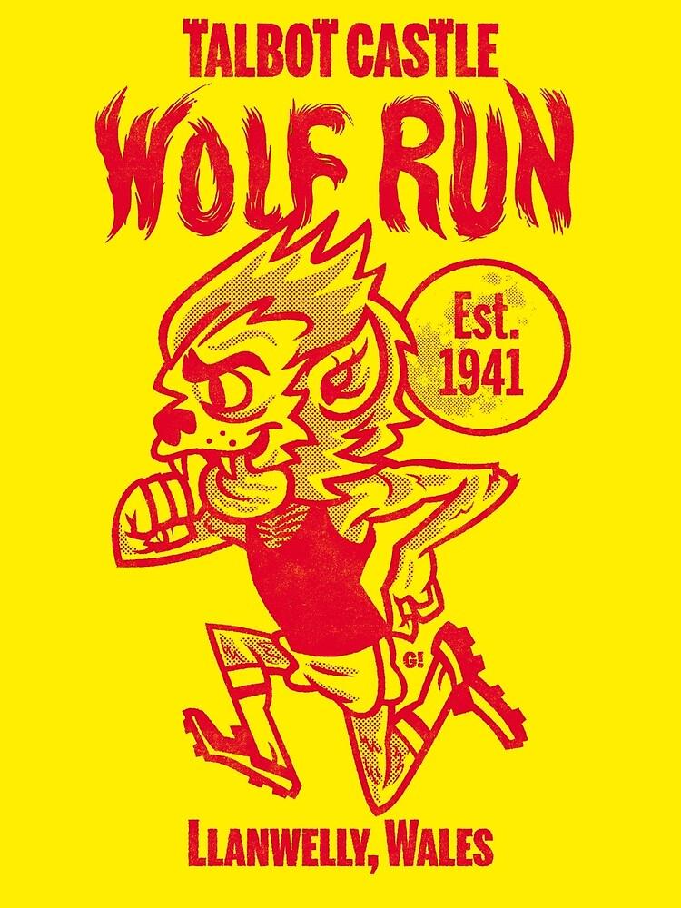 Wolf laufen von Gimetzco