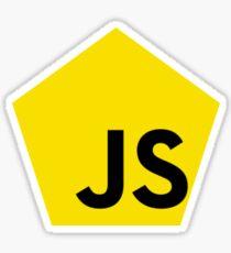 JavaScript - Pentagon Sticker
