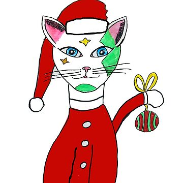 Let's Do Christmas Kitty by twinkletoes21