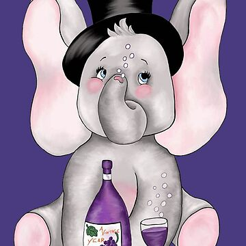 January Elephant ...A Vintage Year by redqueenself