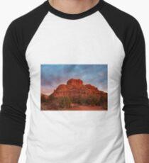 Bell Rock Sunrise Sedona Az Men's Baseball ¾ T-Shirt
