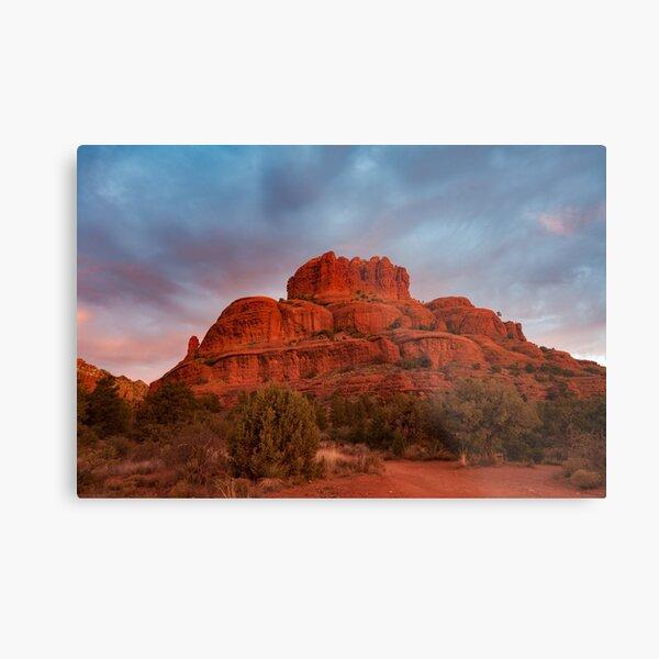 Bell Rock Sunrise Sedona Az Metal Print