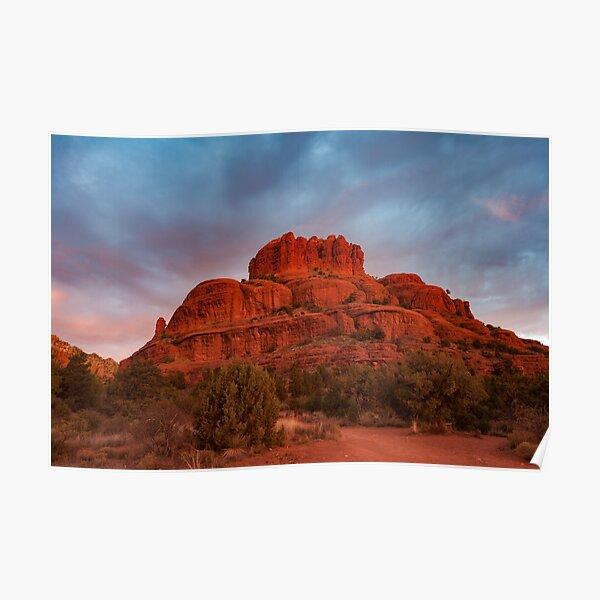 Bell Rock Sunrise Sedona Az Poster