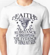 Faith_Black Unisex T-Shirt