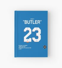 """JIMMY BUTLER"" Off-White Jersey Hardcover Journal"