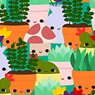 Happy Plants by Stephanie Hardy