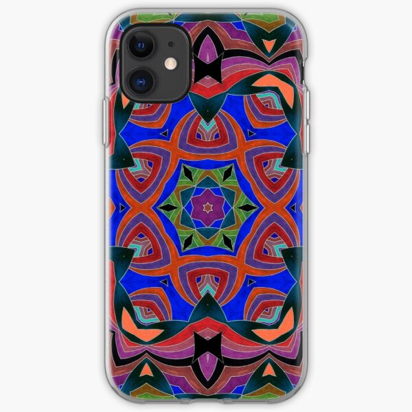 Inverted Colors and Bows Fall Into Winter Design at Green Bee Mee iPhone Soft Case