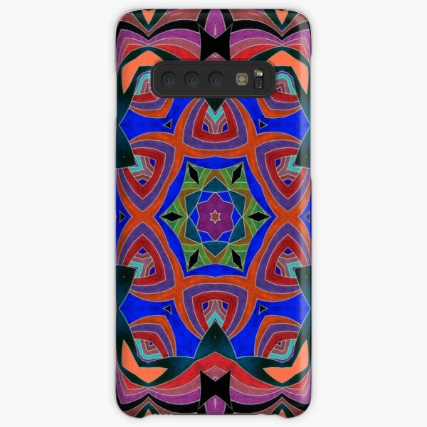Inverted Colors and Bows Fall Into Winter Design at Green Bee Mee Samsung Galaxy Snap Case
