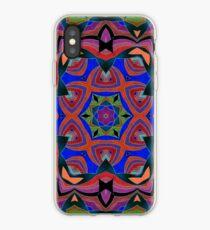 Inverted Colors and Bows Fall Into Winter Design at Green Bee Mee iPhone Case