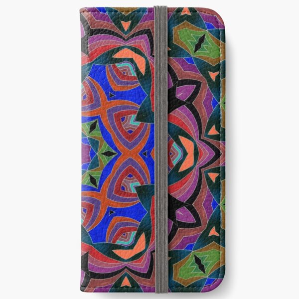 Inverted Colors and Bows Fall Into Winter Design at Green Bee Mee iPhone Wallet