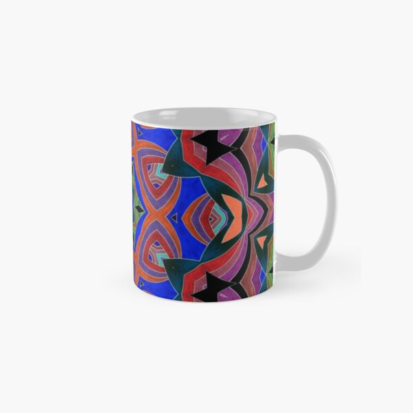 Inverted Colors and Bows Fall Into Winter Design at Green Bee Mee Classic Mug