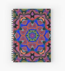 Inverted Colors and Bows Fall Into Winter Design at Green Bee Mee Spiral Notebook