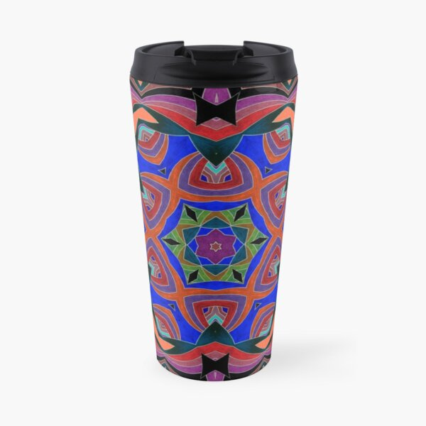Inverted Colors and Bows Fall Into Winter Design at Green Bee Mee Travel Mug