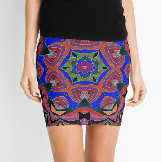 Inverted Colors and Bows Fall Into Winter Design at Green Bee Mee Mini Skirt
