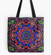 Inverted Colors and Bows Fall Into Winter Design at Green Bee Mee Tote Bag