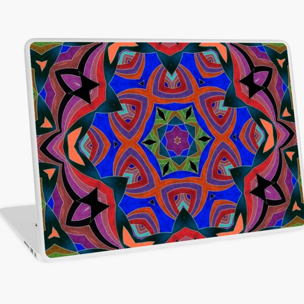 Inverted Colors and Bows Fall Into Winter Design at Green Bee Mee Laptop Skin