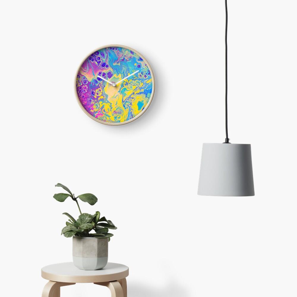 Unicorn Vibes Clock