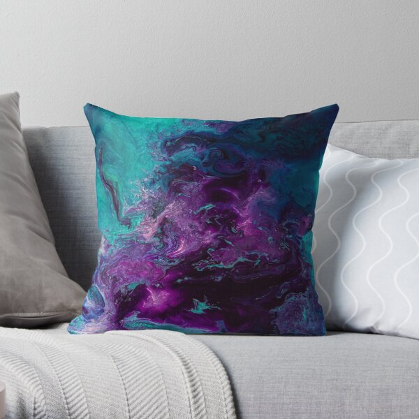 Nebulous Cropped Throw Pillow