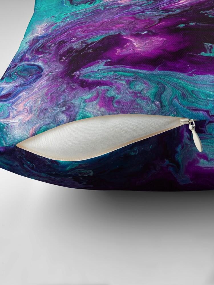 Alternate view of Nebulous Throw Pillow