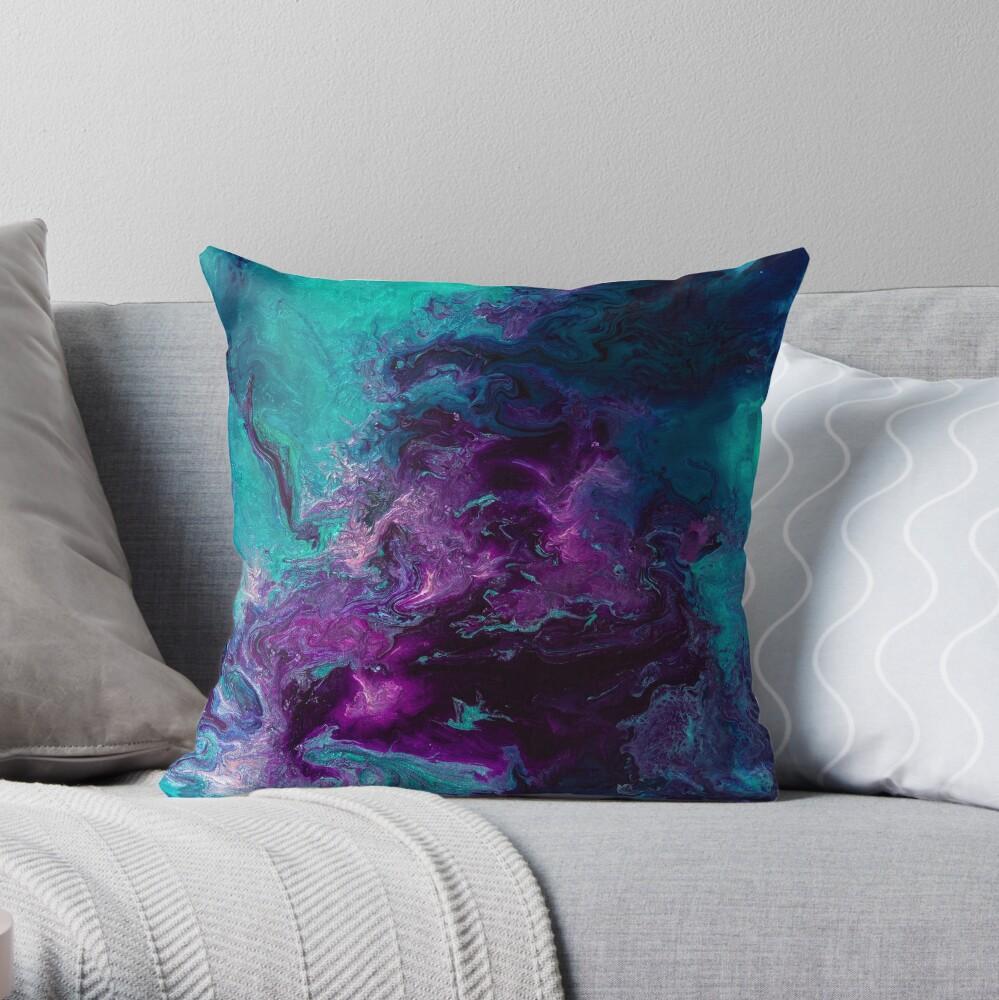 Nebulous Throw Pillow