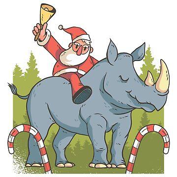 Santa Rhino by TFever