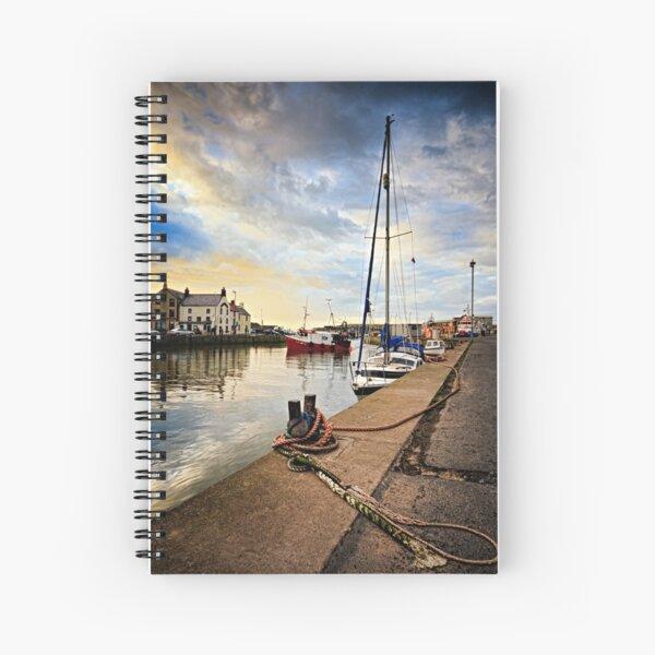 Eyemouth Harbour - Berwickshire, Scottish Borders Spiral Notebook
