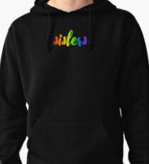rainbow sisters Pullover Hoodie
