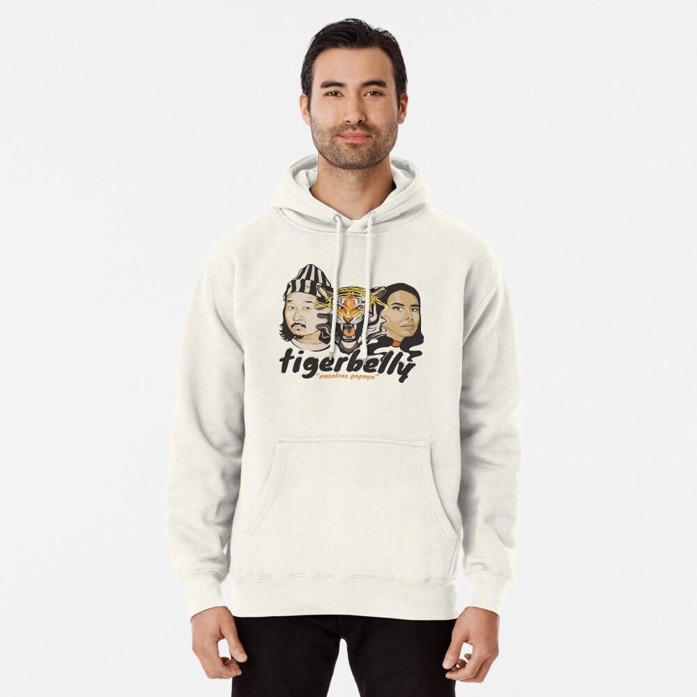 TigerBelly Podcast Design Gift Shirt Tiger Art Sudadera con capucha