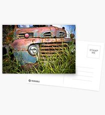 Old Ford Truck Postcards