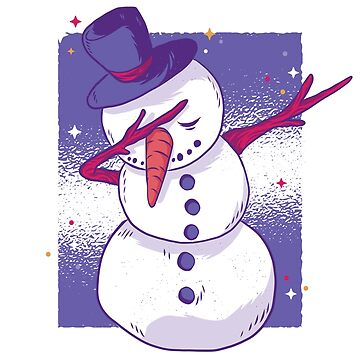 Dabbing Snowman by TFever