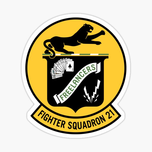 Fighter Squadron Twenty One VF-21 Sticker