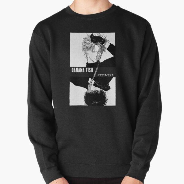 BANANA FISH - Chains B/W Sweatshirt épais