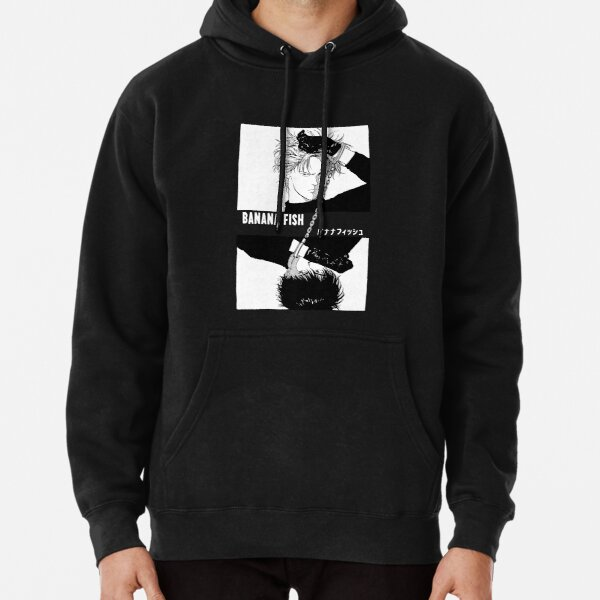 BANANA FISH - Chains B/W Pullover Hoodie
