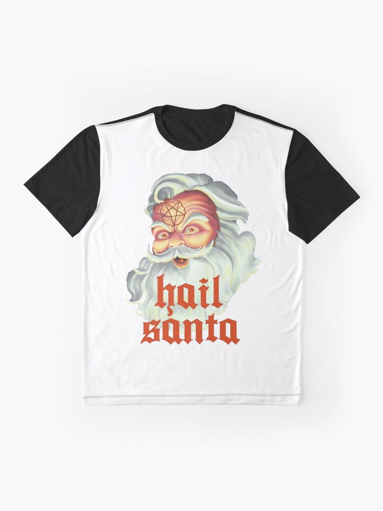 Alternative Ansicht von Hagel Santa Grafik T-Shirt