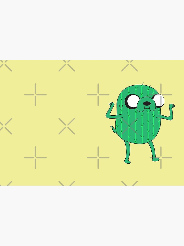 Jake the Dog from AdventureTime with Halloween Cactus costume by PrintablesP