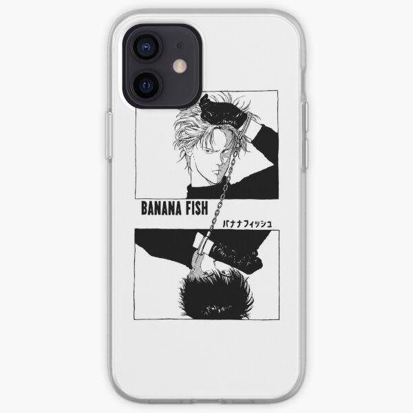 BANANA FISH - Chains BLACK Coque souple iPhone