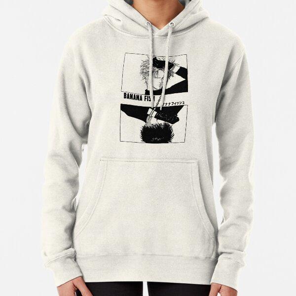 BANANA FISH - Chains BLACK Pullover Hoodie