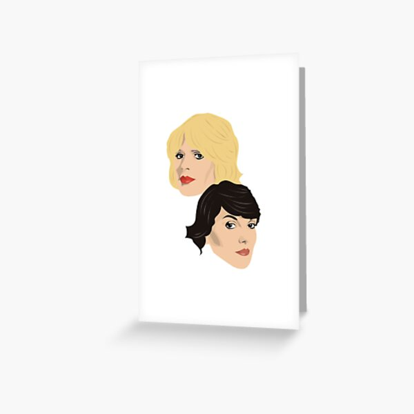 Cagney & Lacey Greeting Card