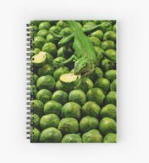 Cuaderno de espiral Eat your brussel sprouts