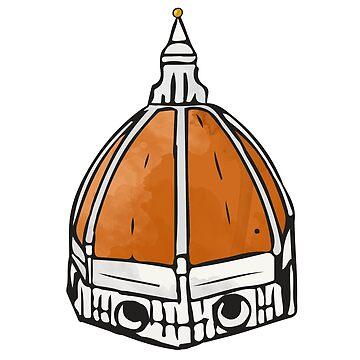 Florence Duomo Sticker by aterkaderk