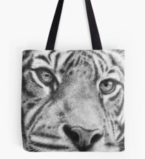 Wildlife Tiger Portrait Tote Bag