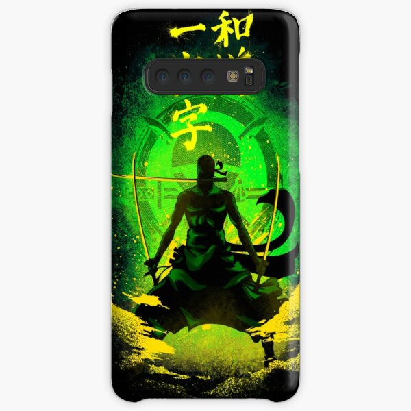 Straight Road of the Harmony - green Samsung Galaxy Snap Case