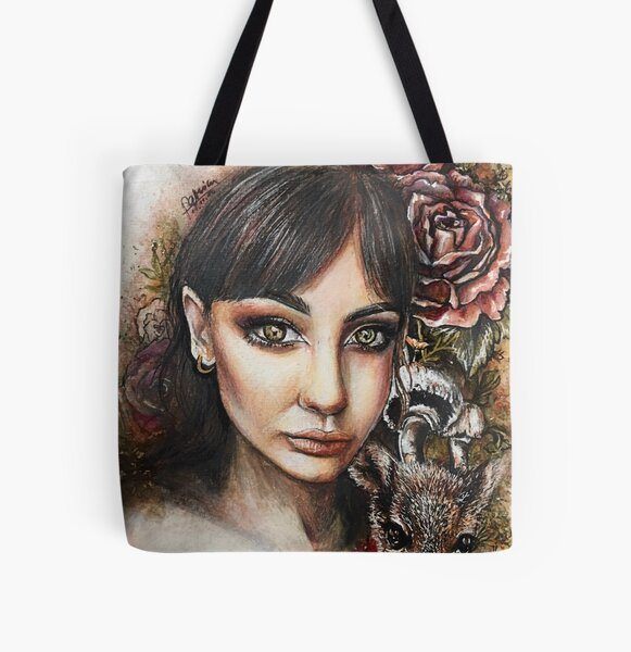 fearless forest fairy All Over Print Tote Bag