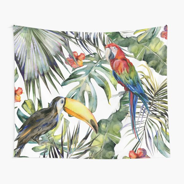 TROPICAL JUNGLE Tapestry