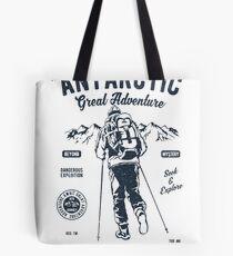 ANTARCTIC GREAT ADVENTURE    T-SHIRT   Tote Bag