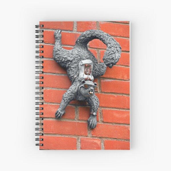 Undercover Squirrel SC Spiral Notebook