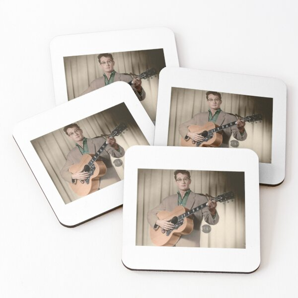 Buddy Holly - Colorized Coasters (Set of 4)