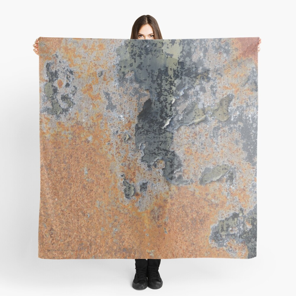 Rust Red Scarf