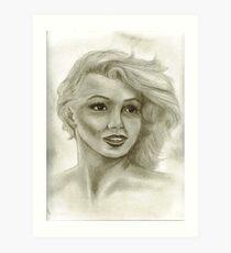 Candle in the Wind - Marilyn Monroe aka Norma Jeane  Art Print
