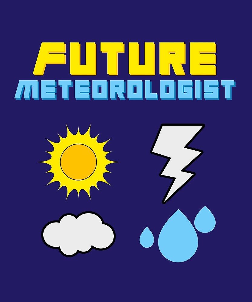 Future Meteorologist Weatherman by huxdesigns
